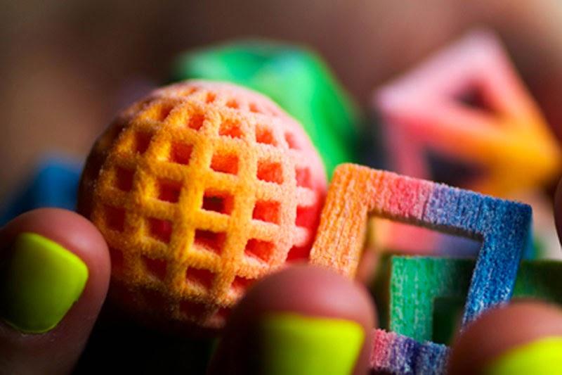 Chefjet una impresora 3D a todo color que imprime productos comestibles