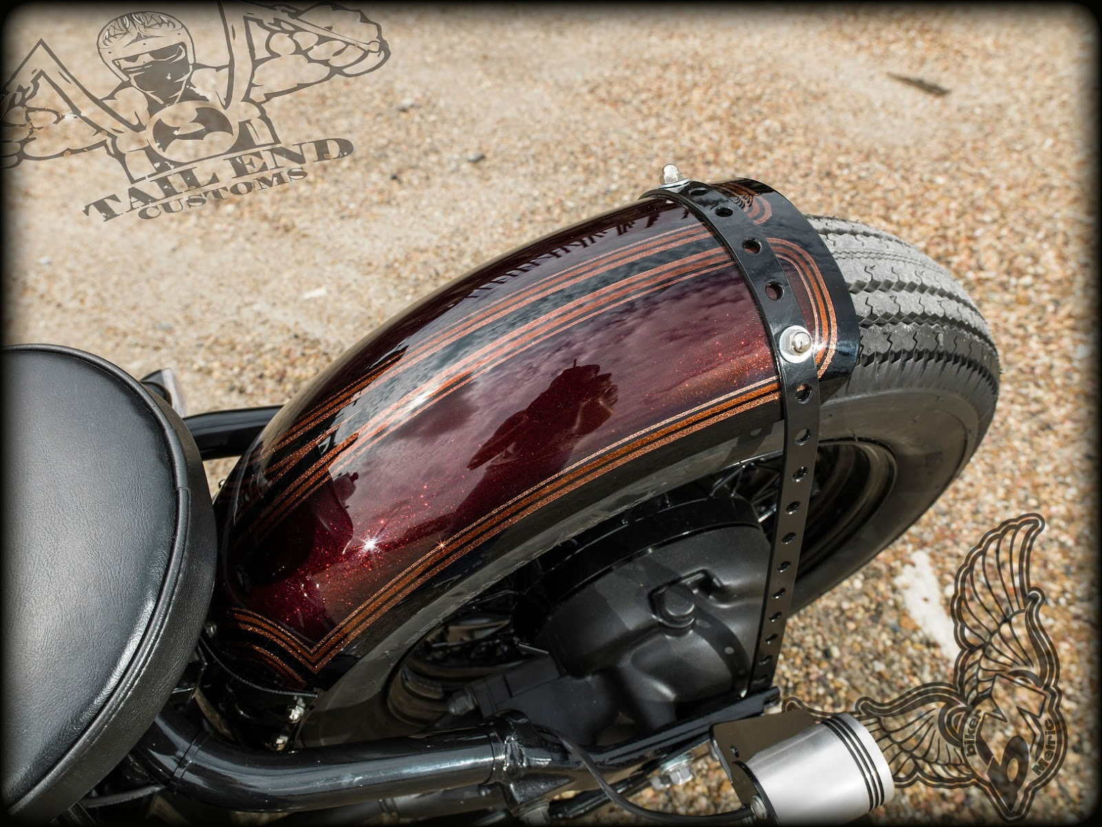 Yamaha V Star 650 By Tail End Customs Bikermetric