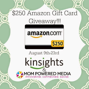 @Kinsights $250 Amazon GC Giveaway