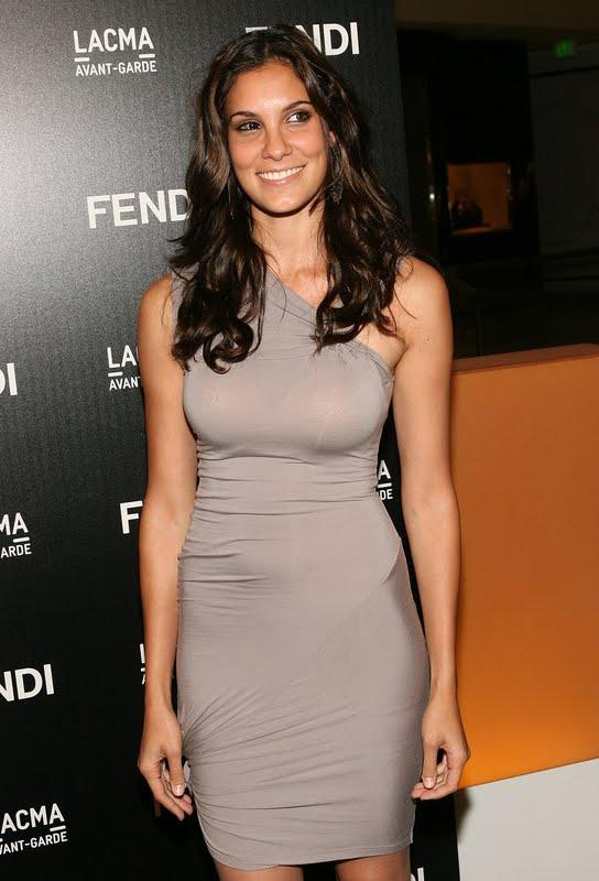 Daniela Ruah at FENDI Boutique Opening in LA - Sexy Leg Cross