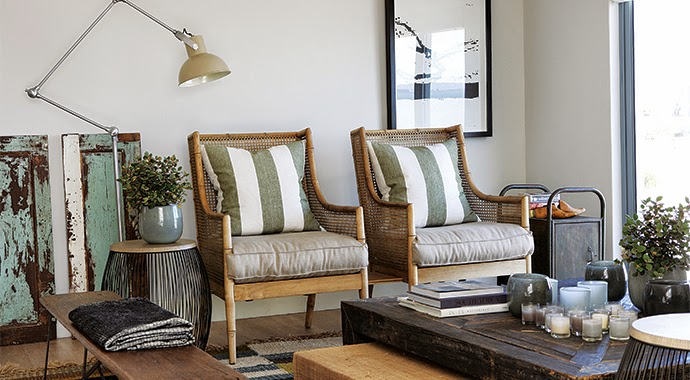sillones de bambú