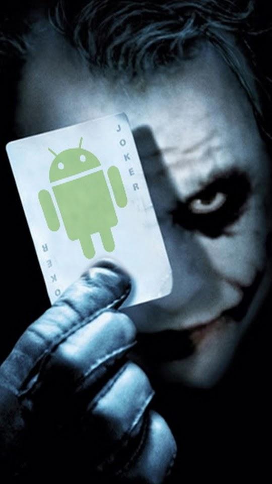 Android Joker Face  Galaxy Note HD Wallpaper