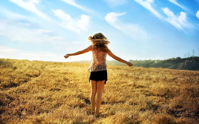Girl Summer Fields