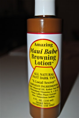 amazing maui babe browning lotion