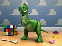 Rex the Dinosaur from Toy Story