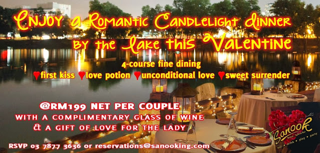 Romantic Candlelight Dinner By The Lake This Valentine At