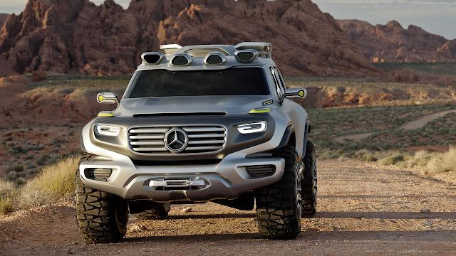 Mercedes-Benz Ener-G-Force front