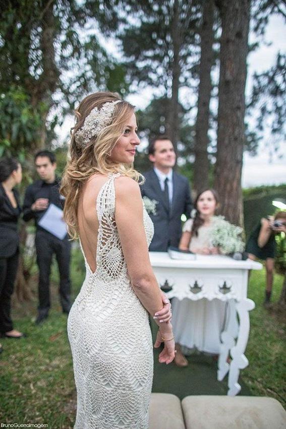 Vestidos de novia estilo crochet
