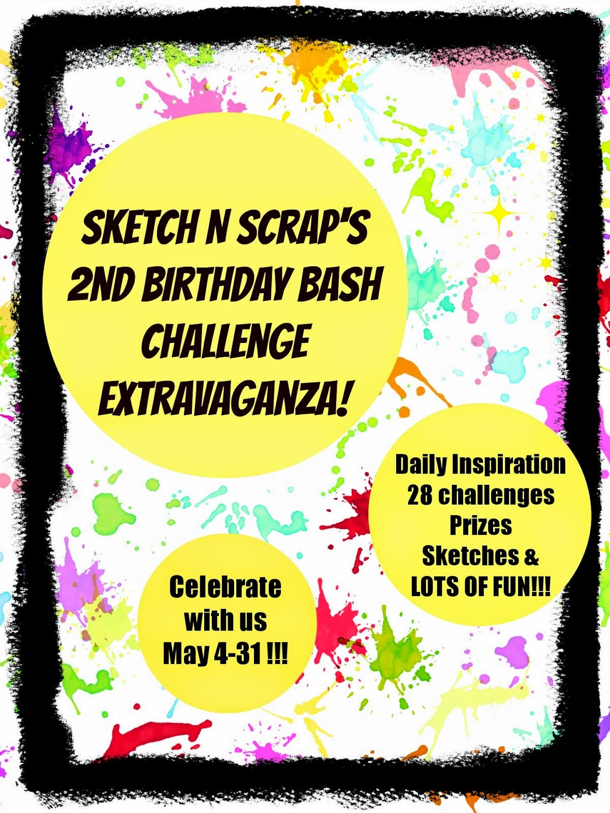Sketch N Scrap is turning 2!