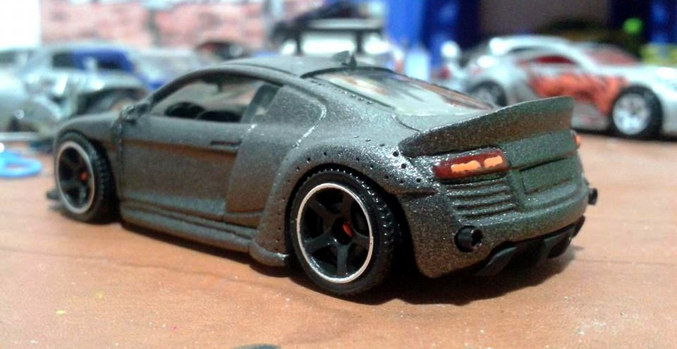Hot Wheels Mild Amp Wild Customs Audi R8 Car Splitter