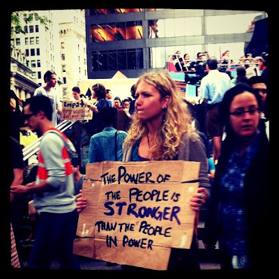 THE POWER OF THE PEOPLE IS STRONGER THAN THE PEOPLE IN POWER!