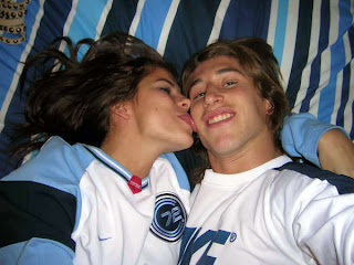 Sergio Ramos with Girlfriend