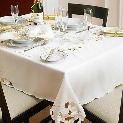 Muebles y decoraci n de interiores los manteles para la for Manteles de mesa