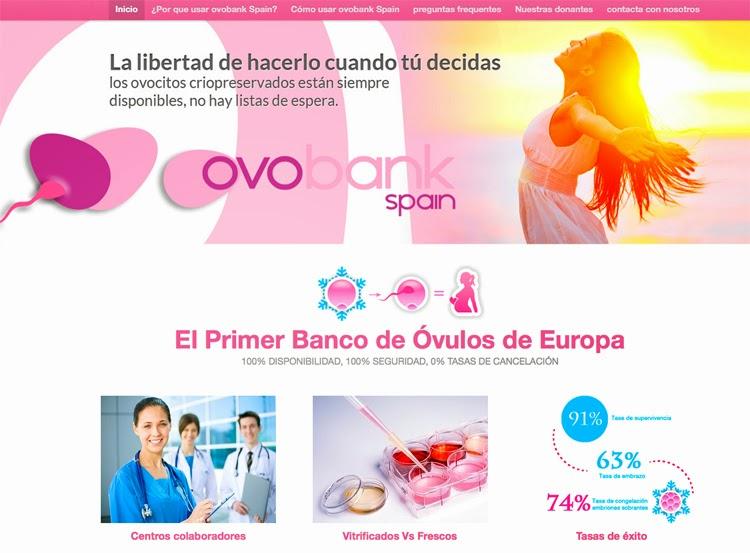 disenoideas web designers launch ovobankspain banco de ovulos marbella