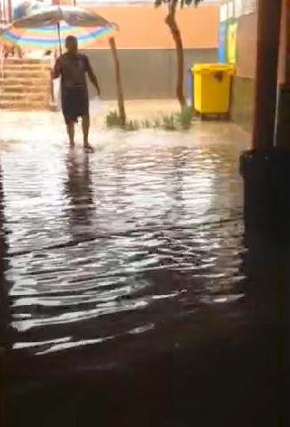Instituto Arguineguin inundado Gran Canaria