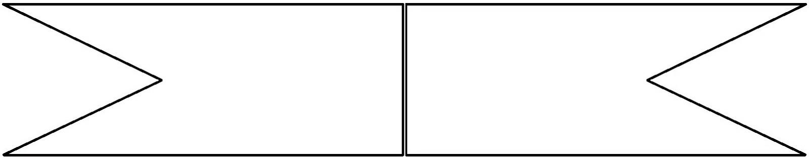 AQUARELINHA: Moldes bandeirinhas
