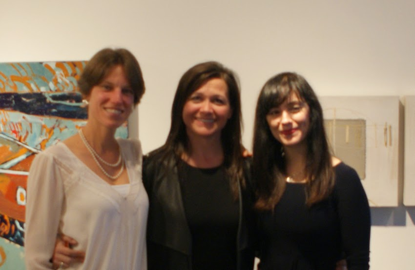 verna vogel, amy and rachel at the Front gallery 2014