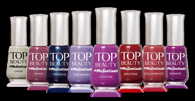 Top Beauty – Coleção #MeSentindo