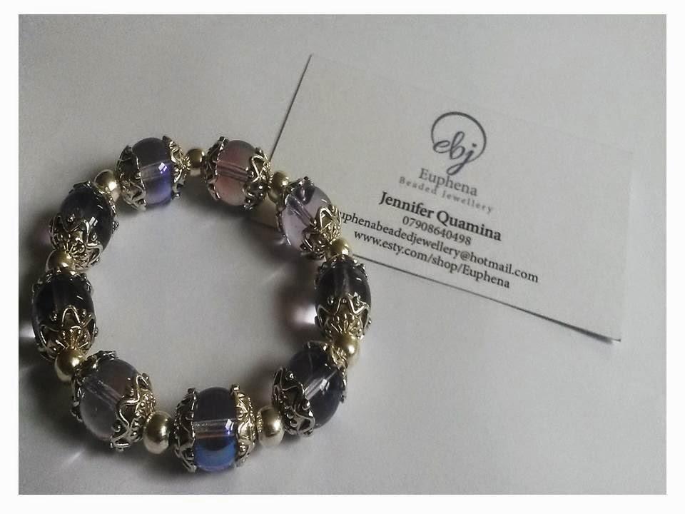 Euphena beaded jewellery latest jewellery designs by jennifer light purple and silver plated bead stretch bracelet 4000 colourmoves