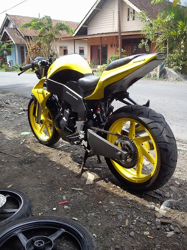 Modifikasi Honda Tiger 2014 title=