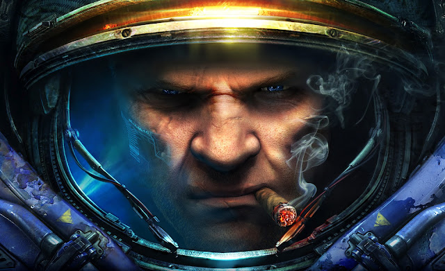 starcraft blizzard real time strategy game