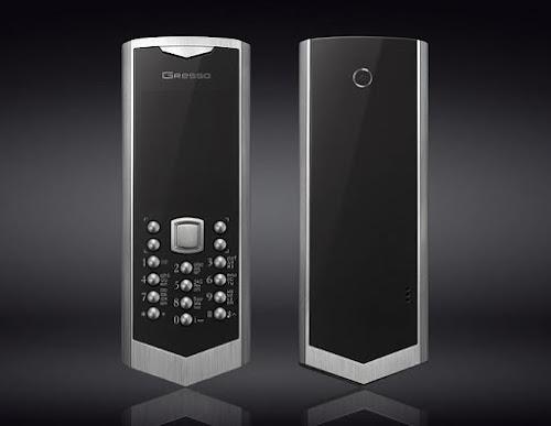 Le smartphone Gresso Regal Titanium