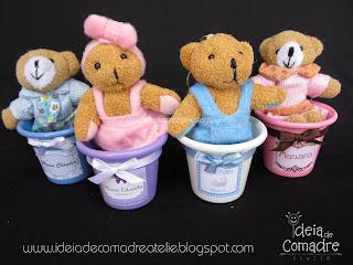 decoração aniversário infantil tema urso