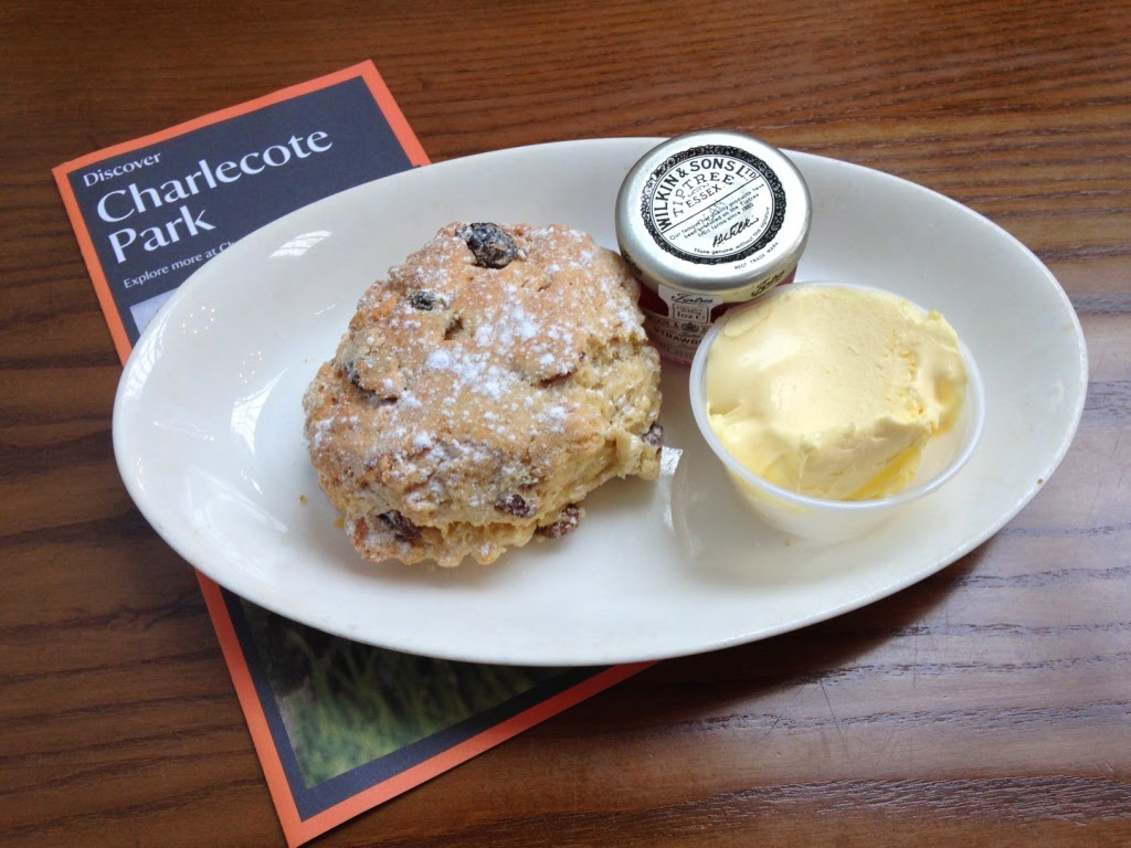 National Trust scones at Charlecote