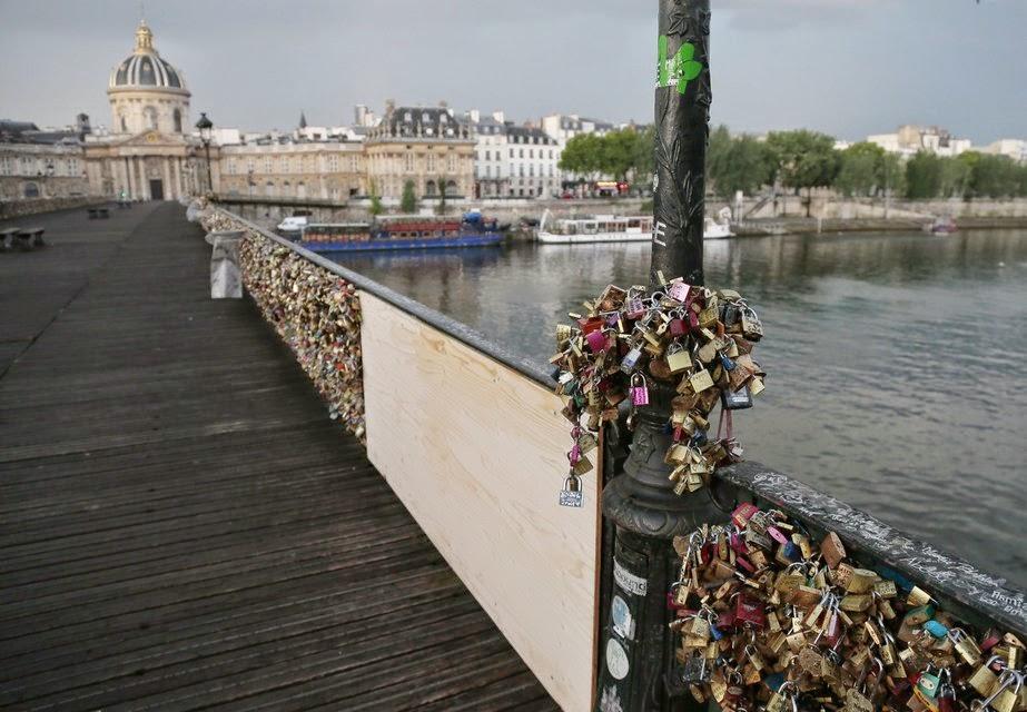 Cabelkawan photos les pont des cadenas - Cadenas amoureux pont paris ...