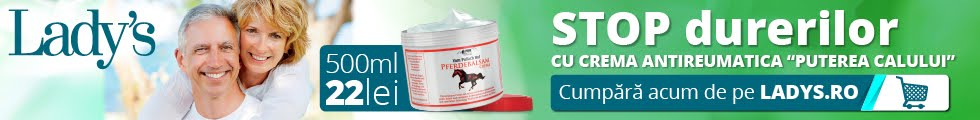 """Crema antireumatica """"Puterea Calului"""""""