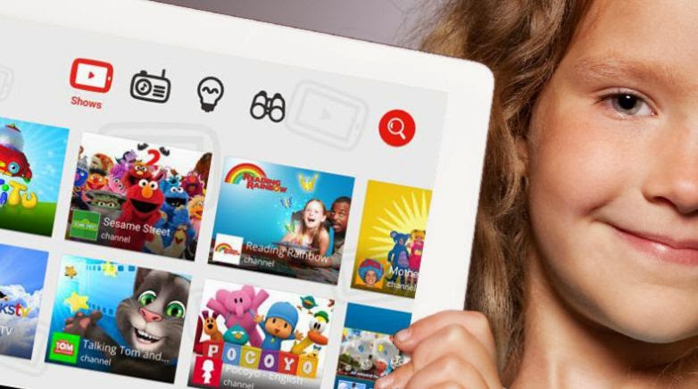 YouTube kids app launches in the US Google Luncurkan YouTube Kids Khusus Anak