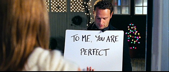 'To me you are perfect ' scene, Love Actually