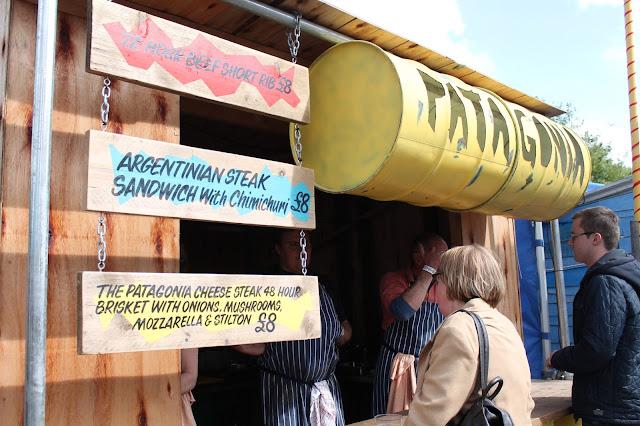Patagonia at street food circus