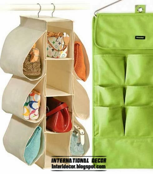 Unique bag compartment for storage furniture