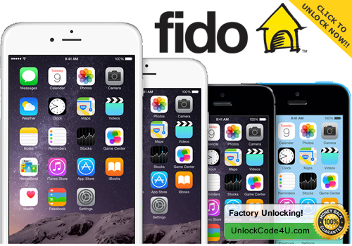 Factory unlock solution for any iPhone from Fido Canada