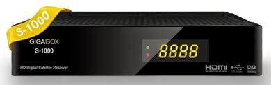 gigabox - GIGABOX S-1000 (1.96) ATUALIZAÇÃO Images