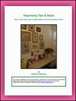 Organizing Tips & Quips
