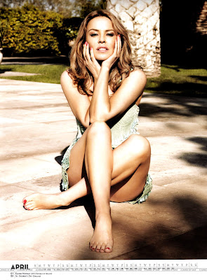 Kylie Minogue Official Calendar 2013 - Beautiful Female Photos