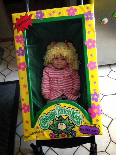 I wish i was a keener cabbage patch halloween costume for Cabbage patch kids halloween