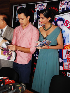 Sonam Kapoor and Imran Khan Launches Stardust Magazine (18).JPG