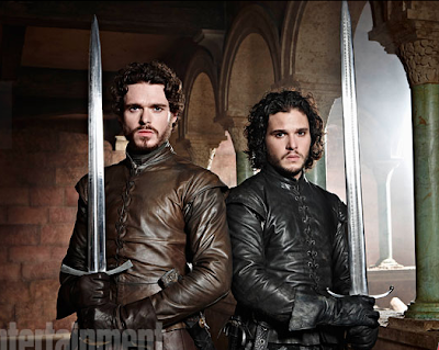 Robb Stark Richard Madden Jon Nieve Kit Harington Entertainment  Weekly 2 - Juego de Tronos en los siete reinos