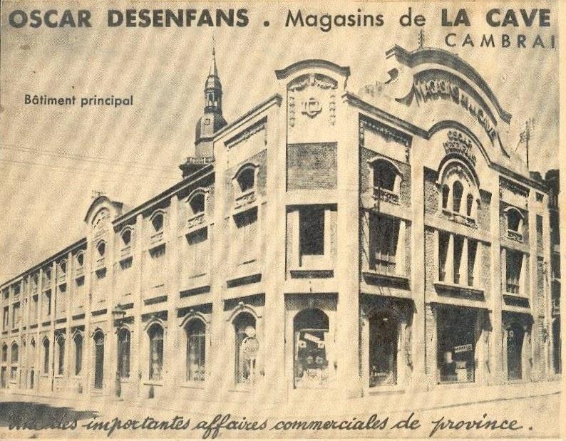 Commerces immarcescibles desenfans magasin de la cave for Magasin d artisanat cambrai