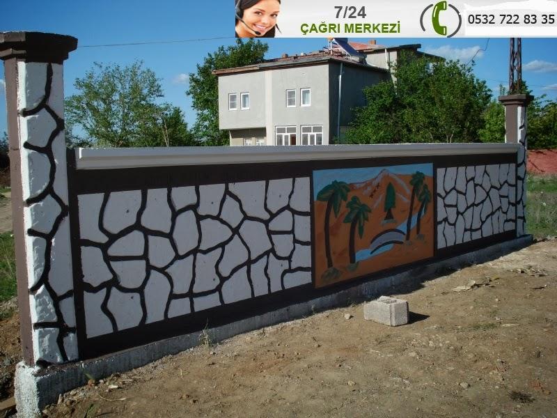 Ankara emek bahçe duvarı yapımı ve tadilatı ankara bahçe duvarı