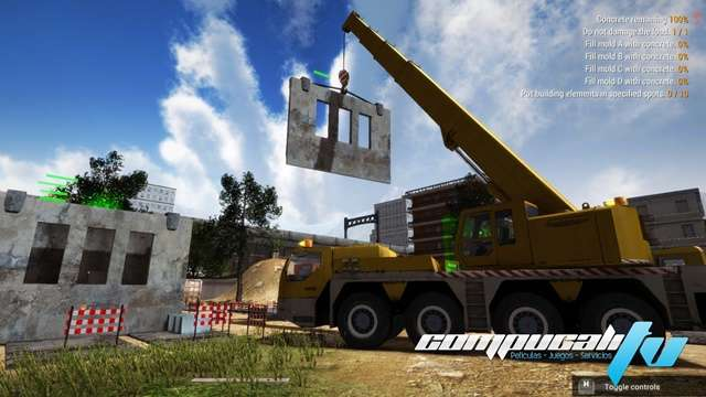 Construction Machines Simulator PC Game Español
