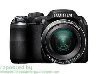 Harga Fujifilm FinePix S4000 Kamera Digital Terbaru 2012