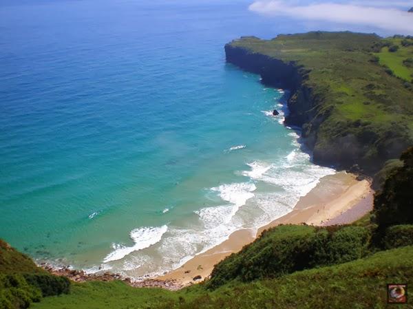 Playa de Andrín, Llanes, Asturias