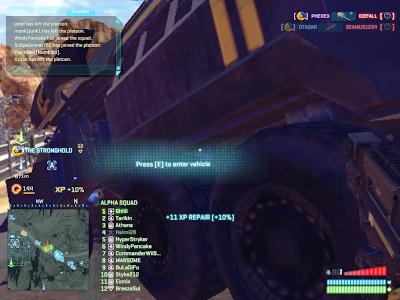 PlanetSide 2 - Entering a Vehicle