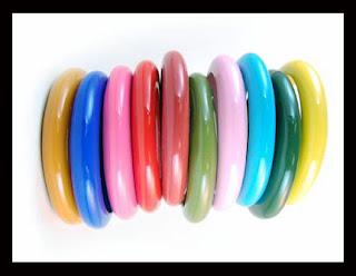Plastic Bangles Design