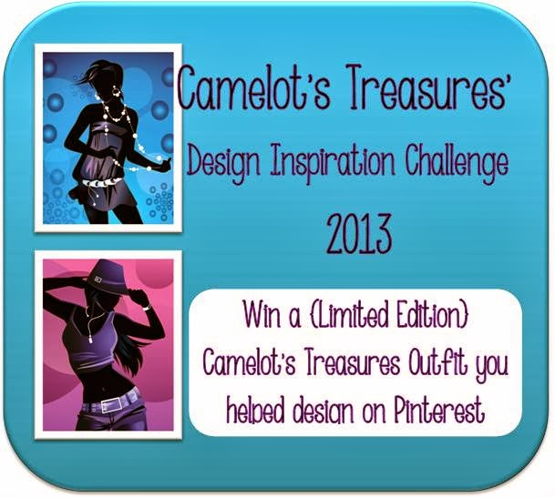 Camelot's Treasures Design Inspiration Challenge