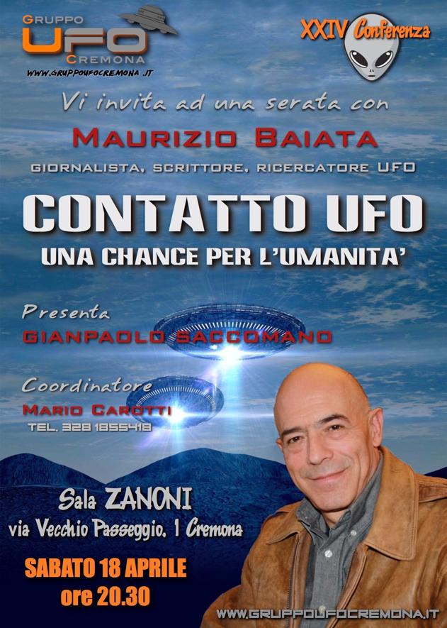 CONTATTO UFO: una chance per l'umanità